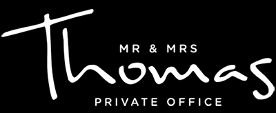 Mr & Mrs Thomas Agency Logo