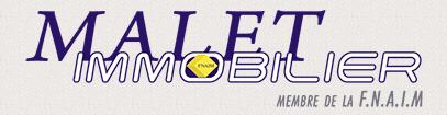 Malet Immobilier Agency Logo