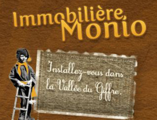 Immobilier Monio Agency Logo