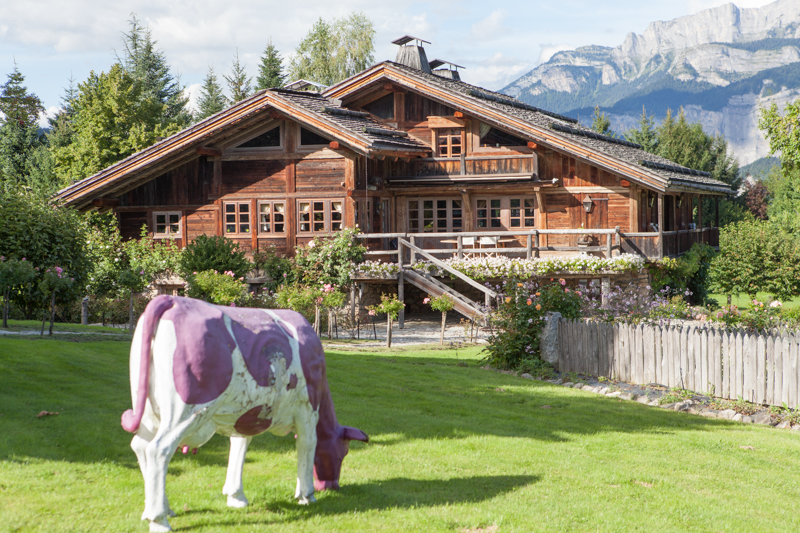 Ski property for sale megeve resort france