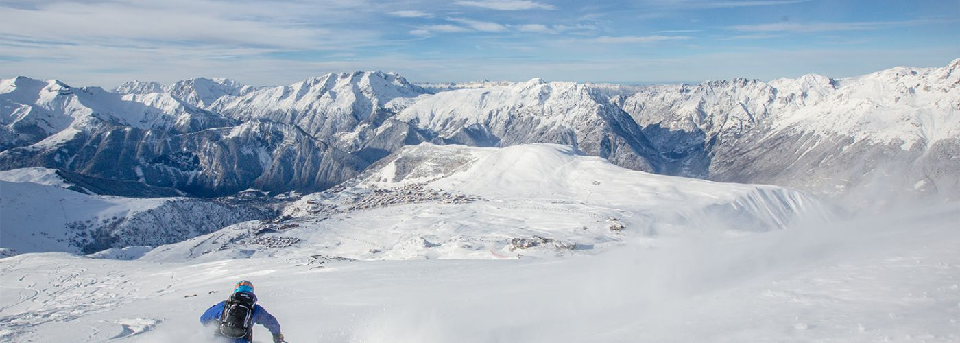 Skiing in French Ski Resort Alpe dHuez Ski Property Investment