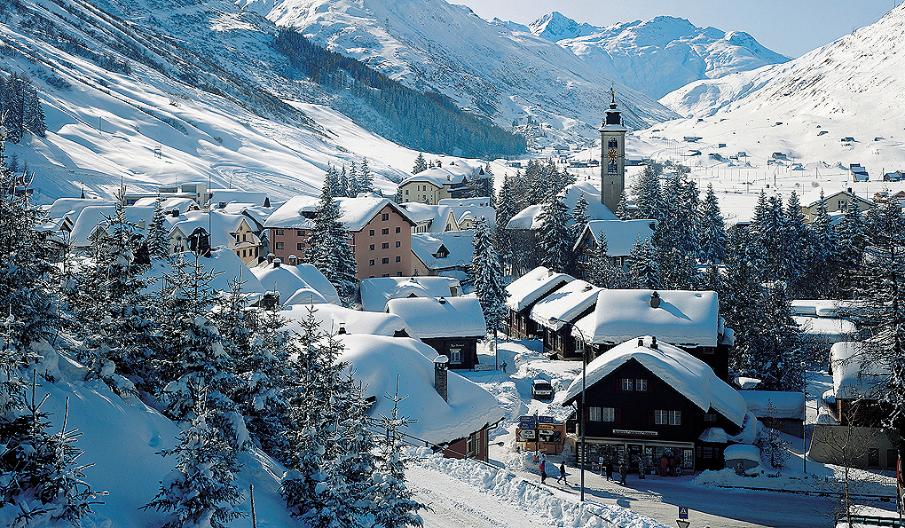 Andermatt Ski resort property for sale switzerland