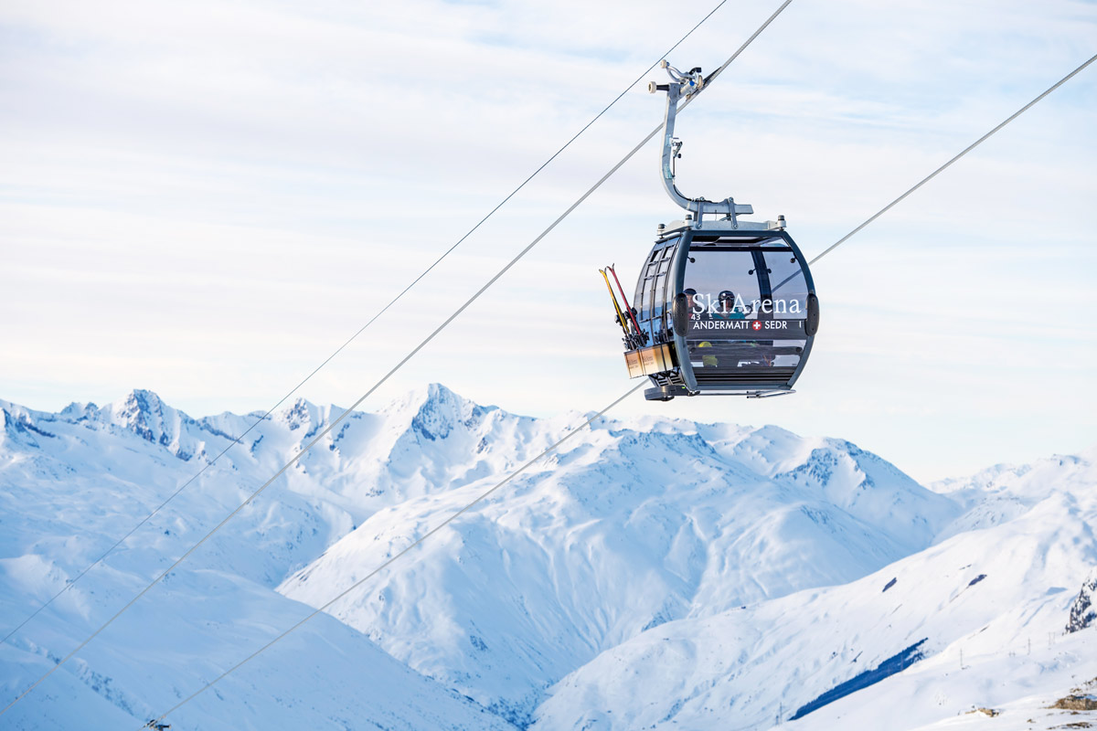 Andermatt ski resort Switzerland property for sale