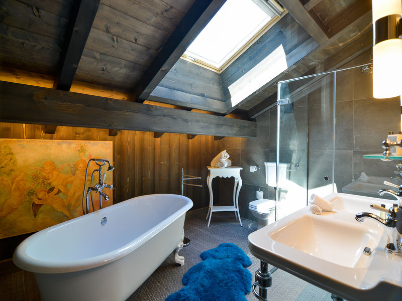 Bathroom Le Castel Chamonix