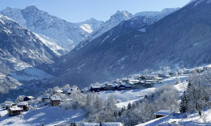 Buy Ski Property in Bruson and Verbier