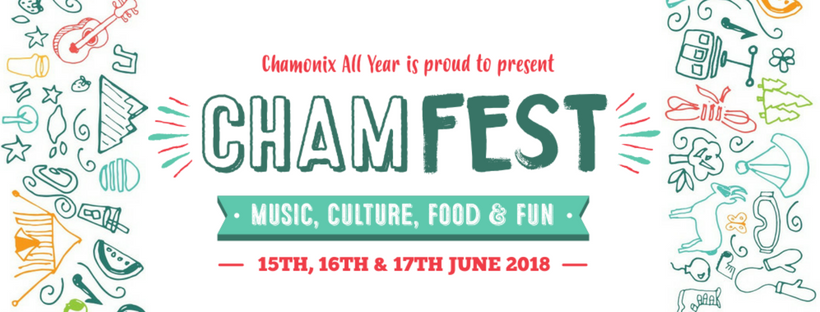 CHAMFEST 2018, a New Boutique Music Festival for Chamonix, by Chamonix!