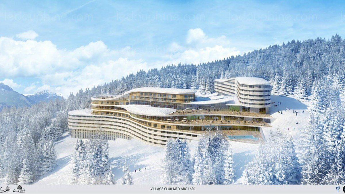 Club Med Les Arcs Development