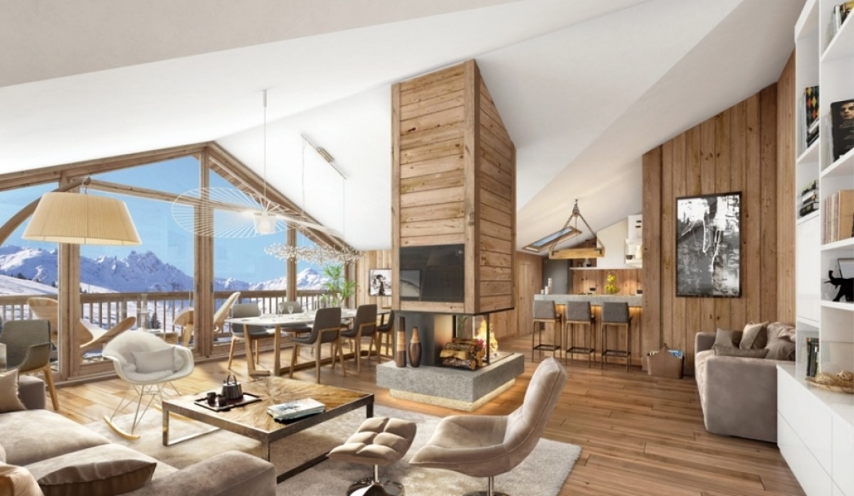 Courchevel ski apartment for sale france