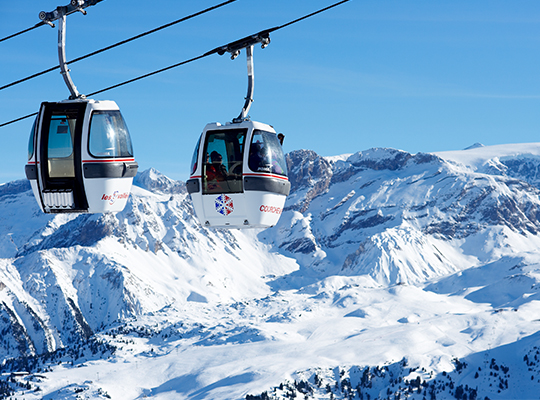 Courchevel ski resort France property for sale