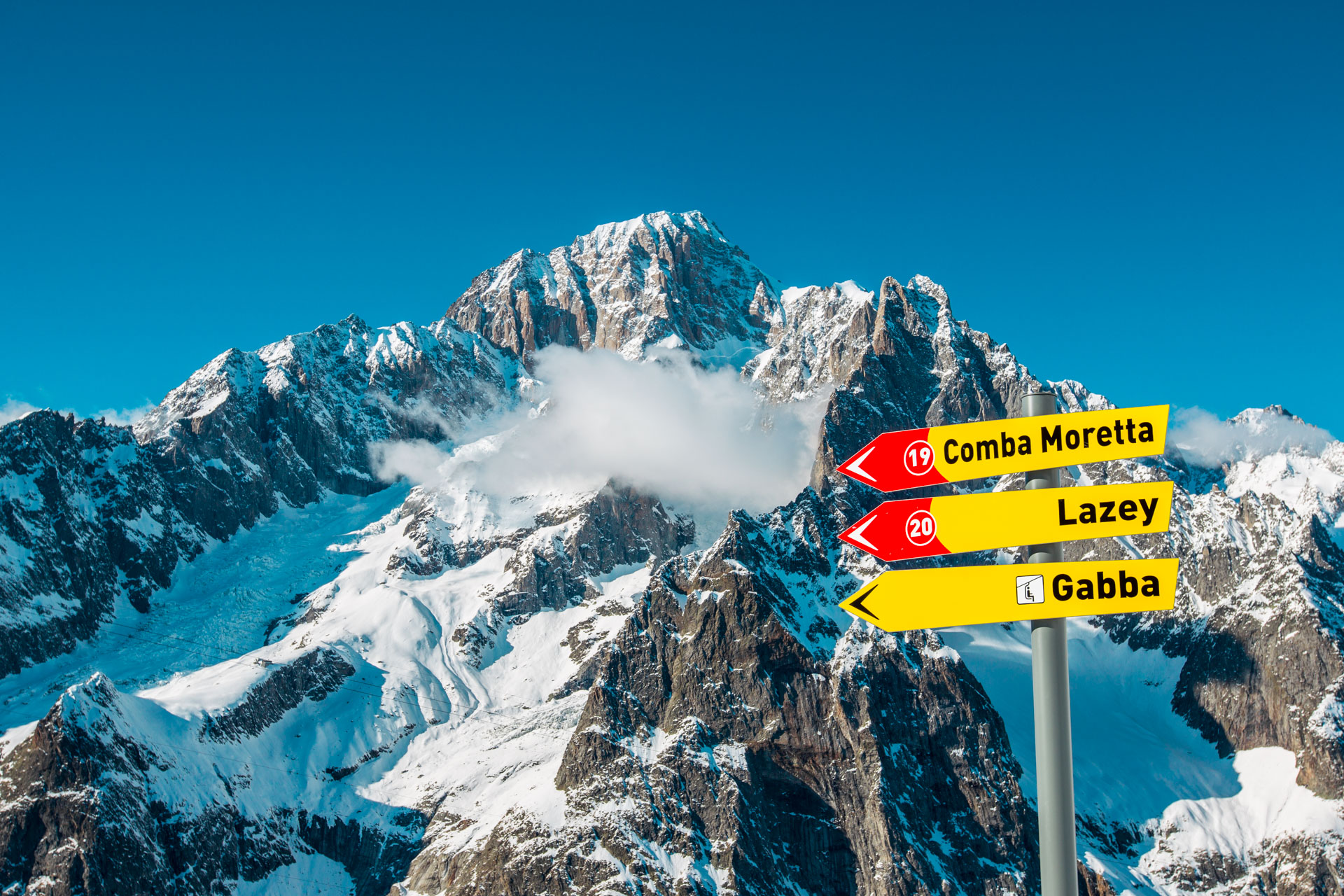 Courmayeur ski resort Italy property for sale
