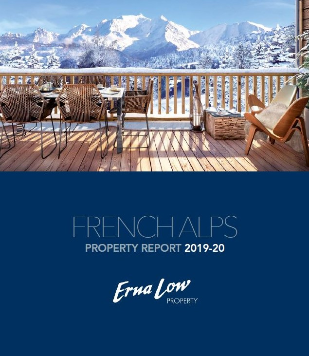 Erna Low Property Launches French Alps Property Report For The 2019/20 Ski Season