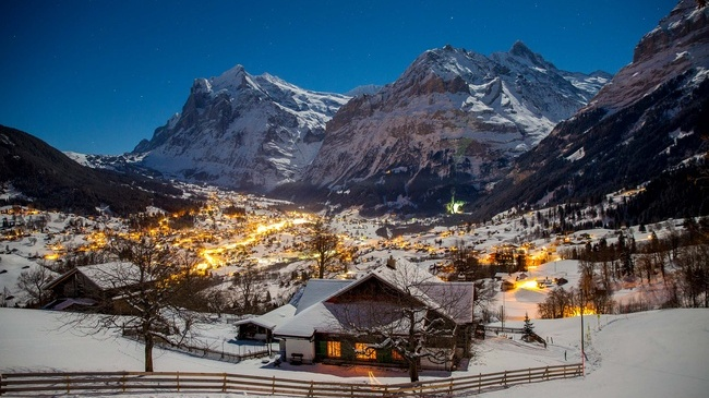 Grindelwald ski resort Switzerland property for sale