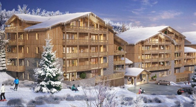 ski apartment for sale france