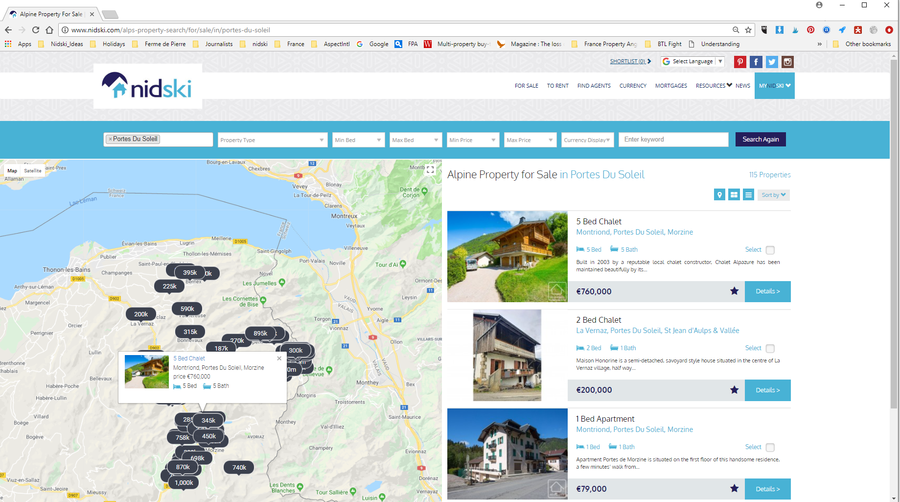 Find Your nidski - How To Guide To Finding Your Dream Ski Property On nidski.com