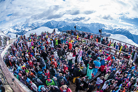 Snowboxx Music Festival in the French Ski Resort Avoriaz