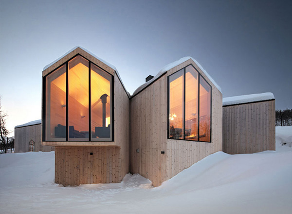 Split View Mountain Lodge Norway Ski Resort