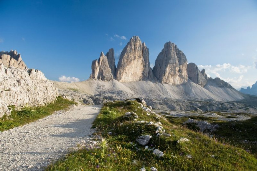 Tre Cime Loop cortina ski resort italy