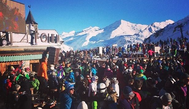 Folie Douce apres ski resort val france
