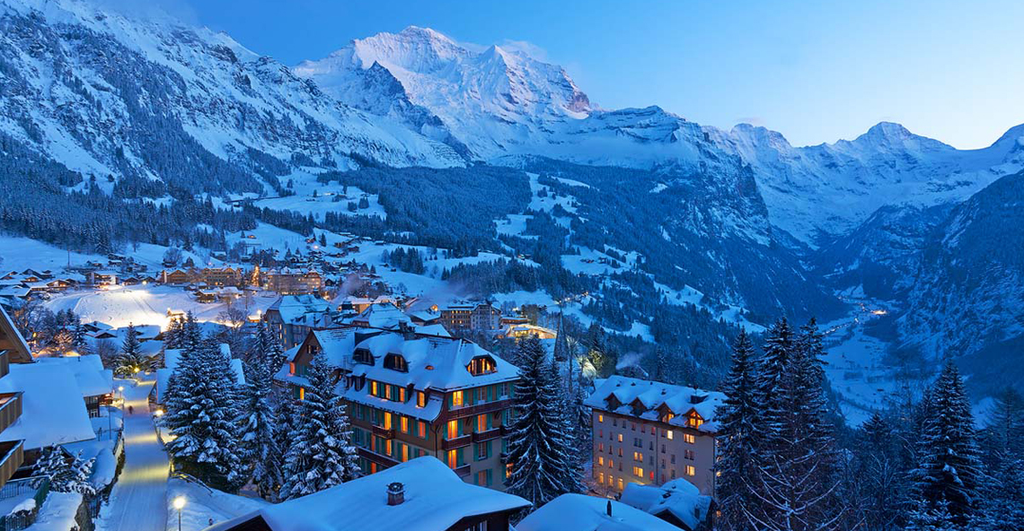 Wengen ski resort Switzerland property for sale